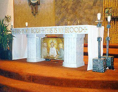 FAQs - Preventing priest burnout amidst shortages - church altar