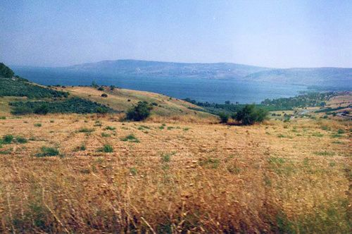 Mount of Beatitudes where Jesus preached the Sermon on the Mount
