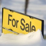 for-sale sign represents suffering