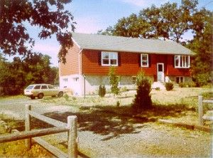 our new house in 1986