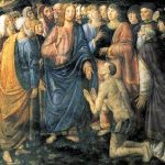 Rosselli's Leper from the Vatican's Sistine Chapel depicts healing from suffering