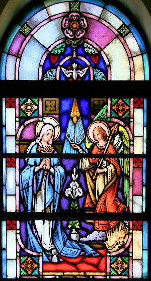 Evangelization Ministry - Being a Handmaid of the Lord - The Annunciation