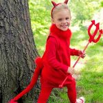 teaching a child to be a devil for Halloween isn't far from the occult