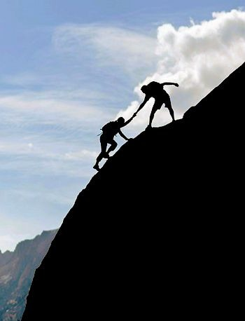 Helping another person climb to God in your ministry of evangelization