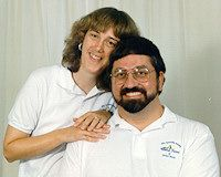 Terry & Ralph Modica in 1995