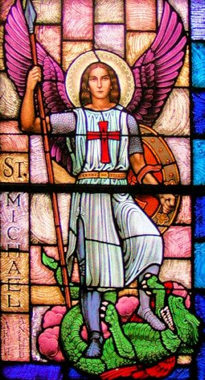 photo of St. Michael the Archangel by Terry Modica