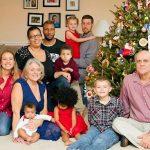 Joan Dulcey's family in 2015