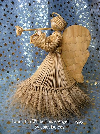 Joan Dulcey's straw angel