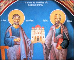 Evangelization Ministry - The Passion of St. Paul in Today's World - St. Paul and St. Barnabas