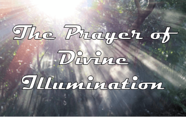 Prayer of Divine Illumination