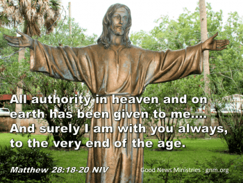 All authority in heaven