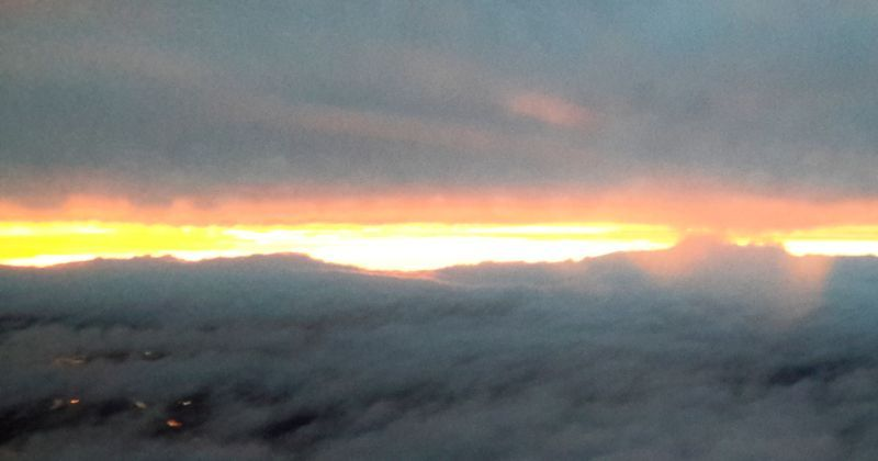 The Vision of Purgatory: a sunrise heaven
