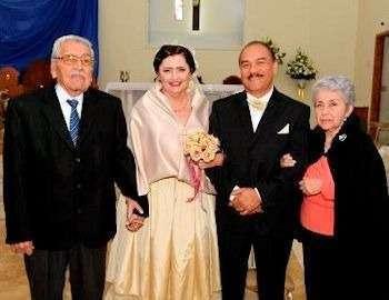 wedding of Caro and Felix Yanez