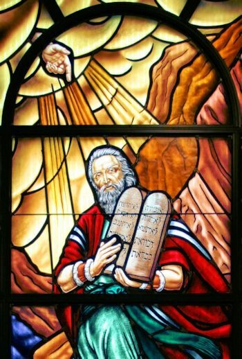 God gave Moses the 10 commandments to prevent moral relativism